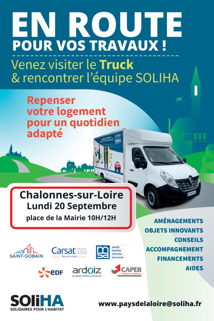 affiche Soliha Truck